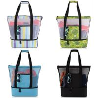 Best Gilrs Monofin Backpack Large Beach Tote Bag Resuable With Zipper One Size wholesale