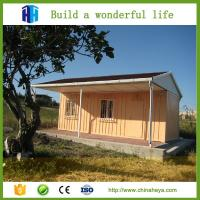 2017 best selling outdoor modern steel structure prefab container house