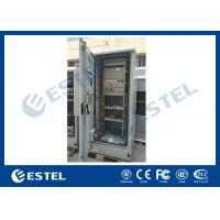 Best Standard Industrial Outdoor Telecom Cabinet , Outdoor Electrical Cabinet With Rectifier System wholesale
