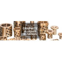 GRAPHITE PLUGGED BUSHINGS engaged in manufacturing, marketing and exporting bronze bushing for SEMI AUTOMATIC, AUTOMATIC HIGH SPEED BOTTLING LINES & PACKAGING MACHINES
