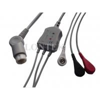 China 3Ld Philips ECG Cable for Patient Monitor , IEC / AHA / Clip on sale