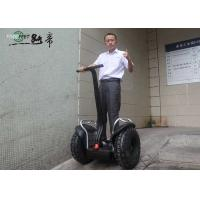 Best Large Battery Powered Off Road Electric Scooter Black For Adult wholesale