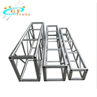 Buy cheap 400x400mm 6061 Aluminum Square Truss For Event Show from wholesalers