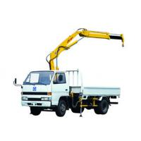 Buy cheap Durable XCMG Knuckle Boom Truck Crane 1400kg Wire Rope Raise product