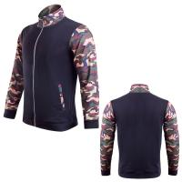 China Men's outdoor sport track suit gym wear compression running jacket apparel factory on sale