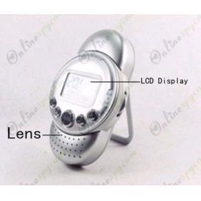 Spy Radio Camera HD Pinhole Shower Spy Camera DVR 16GB 1280X720