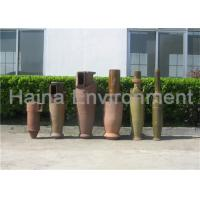 Buy cheap Cyclone Dust Separator for Rotary Kiln / Biomass 80-90% Efficiency product