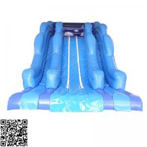 China Large Ocean Style Pvc Inflatable Water Slides Set For Amusement Park Centre on sale