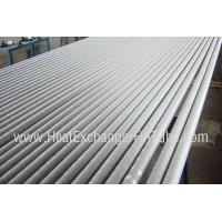 A249 TP304 / TP304L Welded Tube , Extruded Solid  Fin Stock For Heat Exchangers