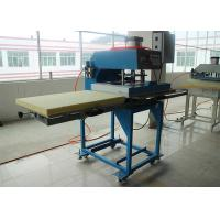 China Double Location Flatbed Textile Heat Transfer Printing Machine Large Size CE on sale