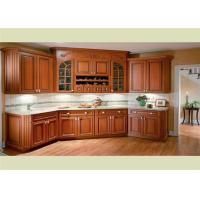 Best Beautiful Solid Wood Kitchen Cabinets Customized Classic Design From Foshan wholesale