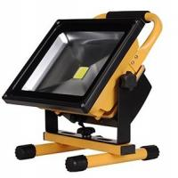 Best 50W  Portable outdoor waterproof rechargeable lithum-ion battery LED flood light emergency lighting wholesale