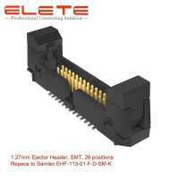"""Best Connector male pin Header Surface Mount 26 position 0.050"""" (1.27mm) replace to Samtec EHF-113-01-F-D-SM-K wholesale"""