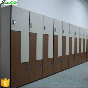 China Gym locker Z shape design phenolic sheet supplier on sale