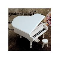 Best Home Decoration Wooden Crafted Gifts Piano / Wooden Music Box For Birthday Gift wholesale