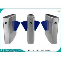 Buy cheap Anti-Rushing Automatic Turnstiles Bi-directional Flap Barriers Speed Gate product
