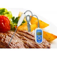 Best Lab Digital Food Thermometer High / Low Temperature Alarm With Stainless Steel Probe wholesale