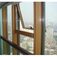 China Wood Clad Aluminum Curtain Wall Awning Window (AW-020) on sale