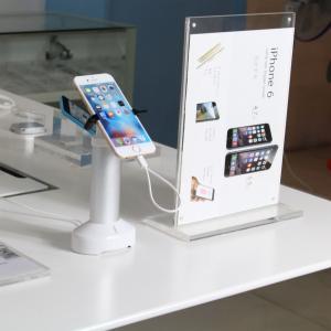 Best COMER sensor alarm cord anti-theft alarm mobile phone desk stand wholesale
