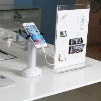 China wholesale secure alarm mobile phone display stand with high security clamp on sale