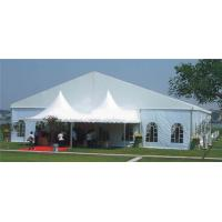 China Heavy Duty Outdoor CanopyParty Tent Aluminum Alloy Material With Lighting on sale