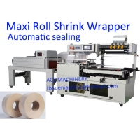 China JRT Jumbo Toilet Maxi Roll Tissue Paper Packing Machine on sale