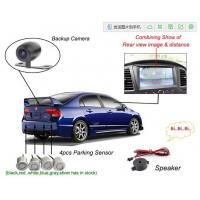 12V Reversing Camera Auto Electromagnetic Parking Sensors System