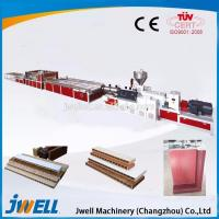 Best High quality useful WPC/PVC door panel extrusion line / plastic extrusion wholesale