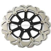 Buy cheap CNC Anodized Motorcycle Brake Disc Brakes And Rotors Kawasaki ZX9R ZZR 1100 from wholesalers