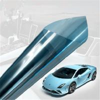 China Home / Car Glass Tint Film , 99% UV Rejection Privacy Glass Film Car Green Color on sale