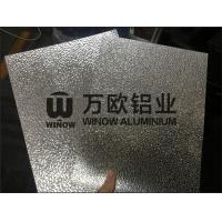 China Stucco 3003 Aluminium Embossed Sheet Customized Length 0.28mm-1.5mm Thickness on sale