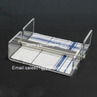 Best Novelty Promotional Grinding Chemical Resistance Plexiglass Acrylic Facial Tissue Dispenser wholesale