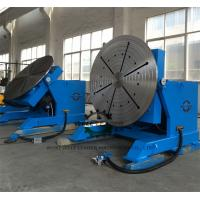 Best High Precision Pipe Rotating Welding Table With Slew Bearing Oil Free Gearbox wholesale
