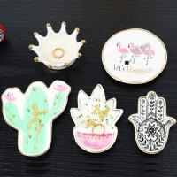 Best Ceramic Jewelry Plates, Ring Holders wholesale