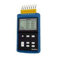 Best High Precision 8 Channel Thermocouple Data Logger Large LCD Display With Back Light wholesale