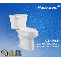 Best Sanitary Wares Water Closet Two-Piece Toilets for Bathroom (CL-048) wholesale