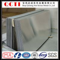 China astm b265 grade 1 grade 5 titanium sheet with the best price per kg on sale