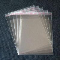 Best Plastic Bag Clear with Self-adhesive Tape Seal in 10x14cm wholesale