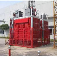 Buy cheap Double Cage Construction Material Hoist 1600kg, Man and Material Hoist product