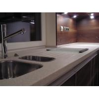 Best Modern Design Pure Acrylic Solid Surface Red Bathroom Cabinets wholesale
