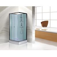 Best Free Standing Square Corner Shower Stall Kits SGS ISO9001 Certification wholesale