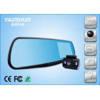 Best Wide Range Auto Dash Camera High Resolution , ABS GPS Radar Detector​ wholesale