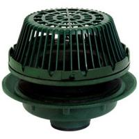 China AE Threaded Adjustable Extension for 21500 Series 15 1/4 Large Sump Cast Iron Roof Drain for Roof Drainage on sale