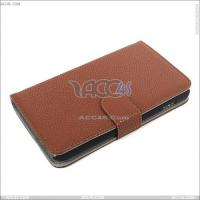 Best Litchi Pattern Mobile Phone Leather Case Cover for Samsung Galaxy Note I9220 wholesale