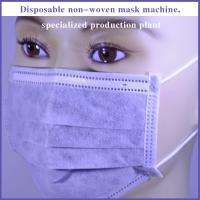 Best Fully Automatic 3 Layer Inner Loop Medical Face Mask Machine (1+2) wholesale
