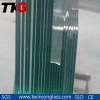 China 4.38-12.38mm F Green Safety Laminated Float Glass on sale
