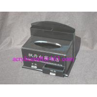 Best Factory custom black acrylic tissue box with drawer for hotel wholesale