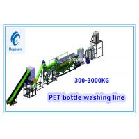 China 380v Pet Bottle Washing Recycling Line High Speed Washing Semi Automatic on sale