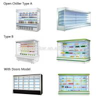 China R404a Refrigerant Multideck Open Chiller Stable Performance Long Life Span on sale