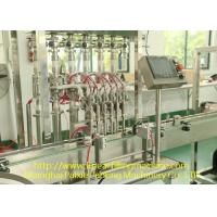 Touch Screen Fast Speed Linear Filling Machines And Equipment Plc Control